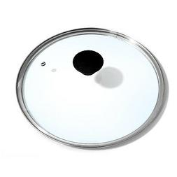 Cook N Home 10.25-Inch/26cm Tempered Glass Lid Cover With Ve