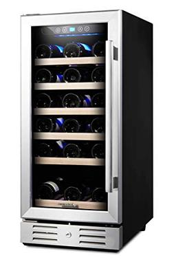 Kalamera 15'' Wine refrigerator 30 Bottle Built-in or Freest