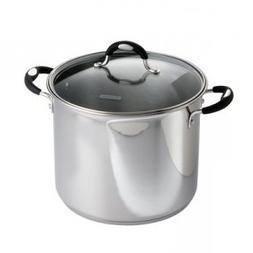 Tramontina 12 Qt. 18/10 Stainless Steel Stockpot With Heat &