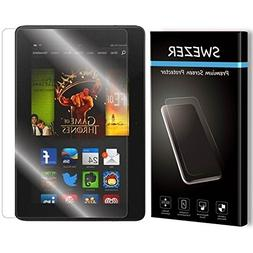 "For Kindle Fire HDX 7""  - SWEZER Tempered Glass Screen Prot"