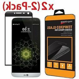 2 Pack MagicShieldz LG G5 Full Cover 3D Tempered Glass Scree