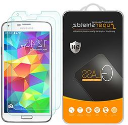 Supershieldz for Samsung Galaxy S5 Tempered Glass Screen Pr
