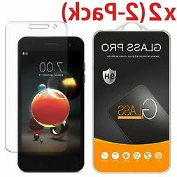2-Pack Tempered Glass Screen Protector For LG Aristo 2/K8 20