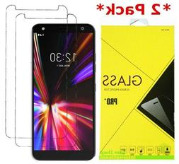 2 pack premium tempered glass screen protector