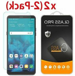 2 Pack Premium Tempered Glass Screen Protector For LG Stylo