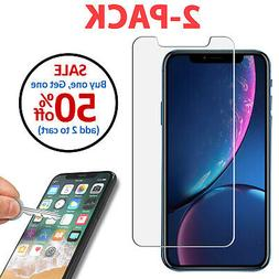 2-Pack Tempered Glass Screen Protector for iPhone X XS Max X