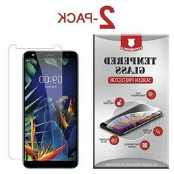 2-Pack Tempered Glass Screen Protector Film for LG K40