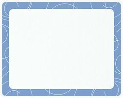 Vance 20 X 16 inch Sky Blue Swirl Surface Saver Tempered Gla