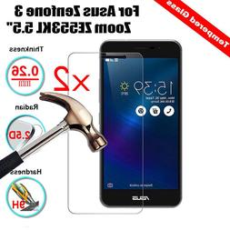 2Pcs Genuine Tempered Glass Screen Protector For Asus Zenfon