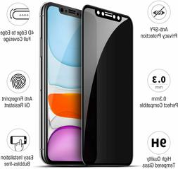 2PACK Privacy Tempered Glass Anti-Spy Screen Protector For i