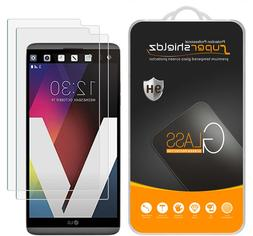 2x Supershieldz Tempered Glass Screen Protector Saver For LG