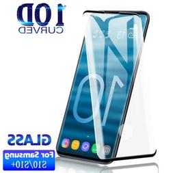 2x Samsung Galaxy S10 S10E S10 Plus Full Cover Tempered Glas