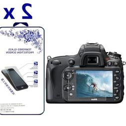 2x tempered glass screen protector for nikon