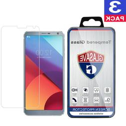GLASAVE Tempered Glass Screen Protector Film Saver For LG G