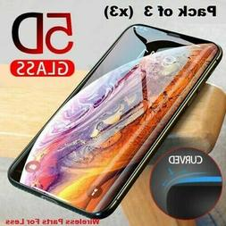 FULL Coverage Tempered Glass Screen Protector For iPhone X X