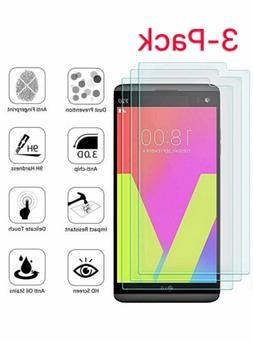 3-Pack Premium Tempered Glass Screen Protector Film For LG V