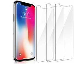 3-PACK Tempered GLASS Screen Protector for iPhone 11 XR X XS