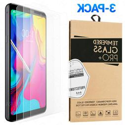 3-Pack Tempered Glass Screen Protector For LG Stylo 5 / Styl