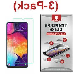 3-Pack Tempered Glass Screen Protector For Samsung Galaxy A8