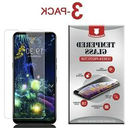 3-Pack Tempered Glass Screen Protector Film for LG V50 Thinq