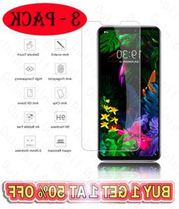 3-Packs 9H Tempered Glass Screen Protector Film For LG G3 G4
