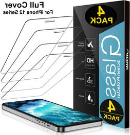 4 Pack iPhone 12 Pro max mini iPhone 12 Pro Max Tempered Gla