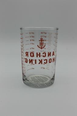 5 oz Clear Glass Measuring Cup Bar - Jigger Shot Glass Ancho