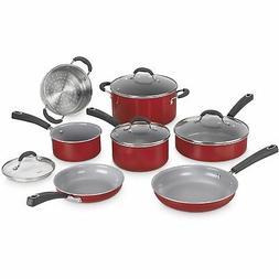 Cuisinart 54C-11R Advantage Ceramica XT Cookware Set, Medium