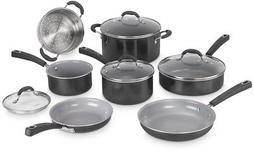 Cuisinart 54C-11BK Advantage Ceramica XT Cookware Set, Mediu