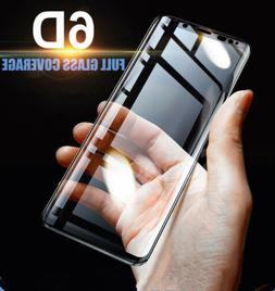 6D Full Cover Tempered Glass Screen Protector Samsung Note 8