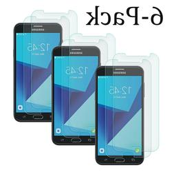 6x samsung galaxy j7 2017 shockproof tempered