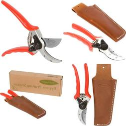 """8.5"""" Bypass Pruning Shears Have A Forged Aluminum Handle Har"""