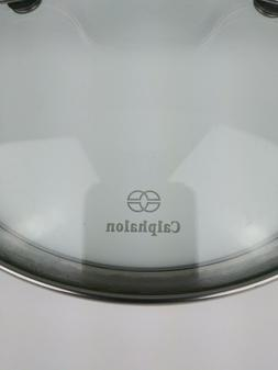 """Calphalon 8"""" Inch Tempered Glass Replacement Lid Stainless S"""
