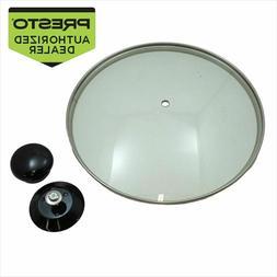 Presto 85676 Multi Cooker Tempered Glass Cover & Knob Assemb