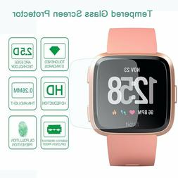 9H Hard HD Clear Tempered Glass Screen Protector for Fitbit