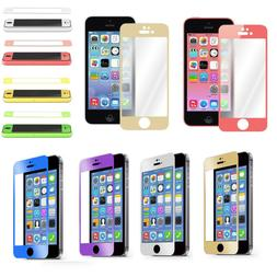 Colorful Real Tempered Glass Film Screen Protector for iPhon