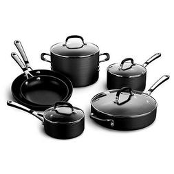 Cookware Calphalon 10 Piece NonStick Oven Safe Tempered Glas