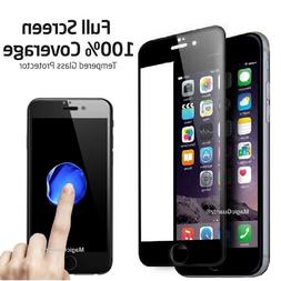 Full Coverage Tempered Glass Film Screen Protector for iPhon