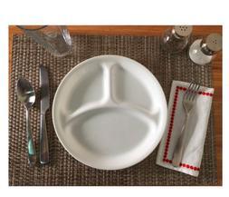"""Livingware 10.25"""" Divided Dish"""