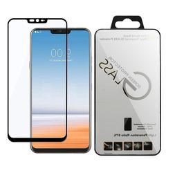 Lots Black Tempered Glass Screen Protector Film Cover For LG