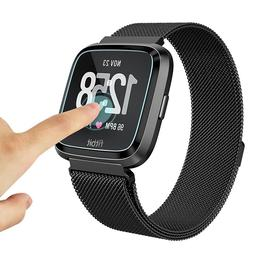 Lots Clear Tempered Glass Screen Protector Cover For Fitbit