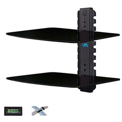 Mounting Dream MD5200-2 Two Shelf DVD DVR VCR Wall Mount Bra