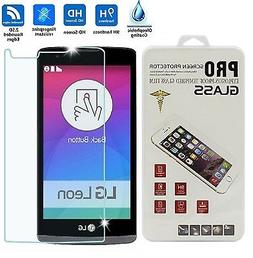NEW TEMPERED GLASS Film Screen Protector For LG Leon C40 Pow