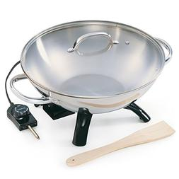 New - Stainless Steel Wok by Presto