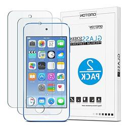 Omoton New iPod touch  Tempered Glass Screen Protector, 0.26