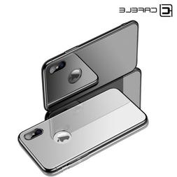 Original Cafele Tempered Glass Case For iPhone X 8 Plus Plat