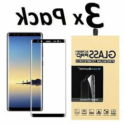 Samsung Galaxy S9 S8 Plus Note 8 9 4D Full Cover Tempered Gl