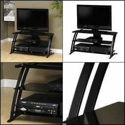 """Sauder 408559 Deco Panel TV Stand, For TV's up to 42"""" , Blac"""
