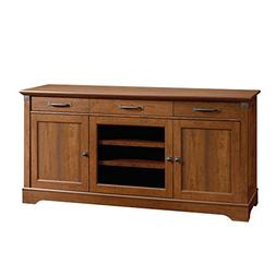 "Sauder 415572 Carson Forge Credenza for TVs up to 70"" Washin"