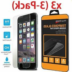 Screen Protector Tempered Glass Film For iPhone 5 6 7 8 Plus